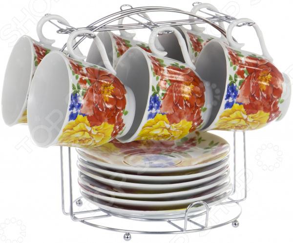 Набор чайный OlAff Metal Stand DL-F6MS-200 набор чайный olaff metal stand dl f6ms 174