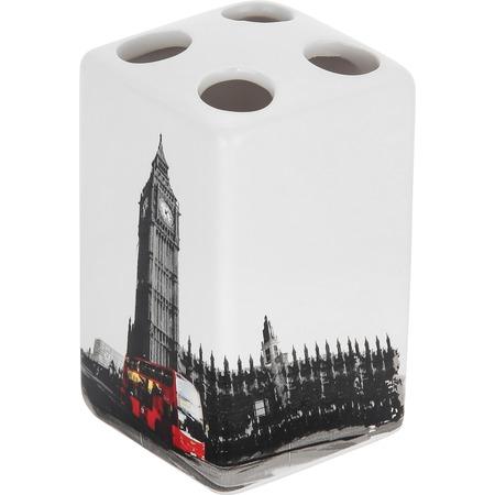 Купить Держатель для зубных щеток Рыжий кот «Лондон»