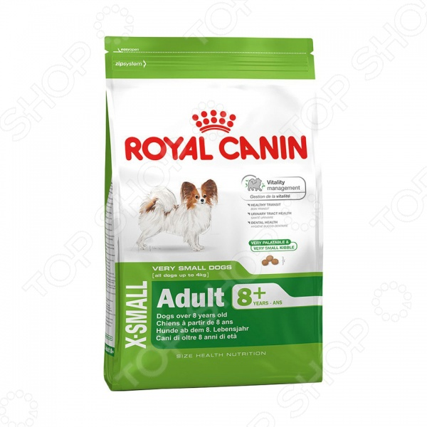 ���� ����� ��� ����� ����������� ����� Royal Canin X-Small Adult 8+