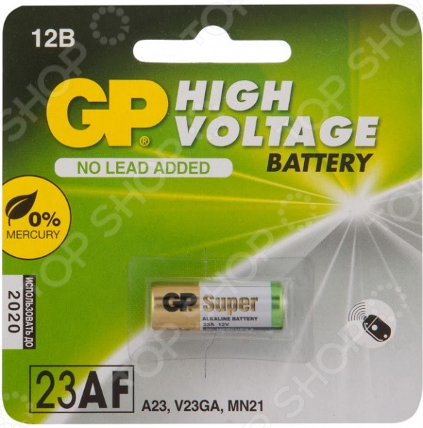 Батарейка высоковольтная GP Batteries 23AF набор батареек gp batteries 23af 2c5