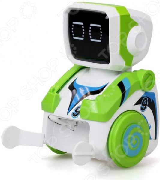 Игрушка радиоуправляемая Silverlit «Робот футболист Кикабот зеленый» интерактивные роботы silverlit робот футболист р у silverlit кикабот 2 шт