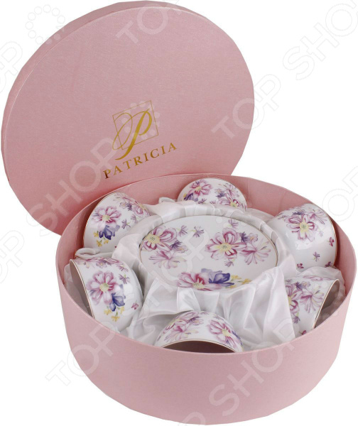 Чайный набор Patricia IM56-1922 конфетница patricia диаметр 24 см im56 0120