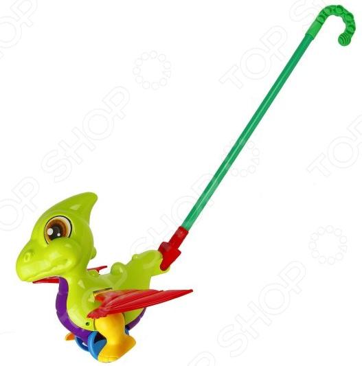 Игрушка-каталка со звуком Наша Игрушка «Дракоша». В ассортименте каталка детская наша игрушка барабан с шариком в ассортименте