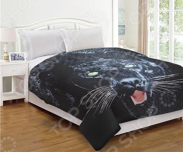 Покрывало двухстороннее «Дикая кошка». В ассортименте покрывало двухстороннее арт 270 размер 215х240 см
