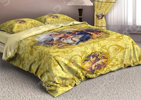 Комплект постельного белья «Аурель голд». 1,5-спальный