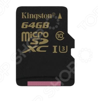 Карта памяти Kingston SDCG/64GBSP