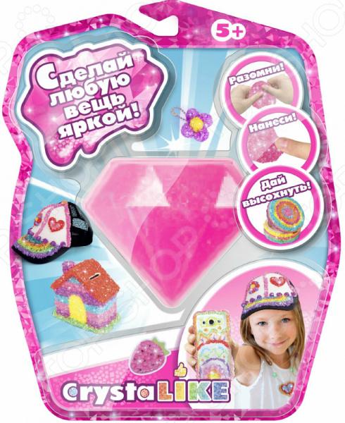 Набор для лепки из пластика 1 Toy Crystalike Т10846. В ассортименте