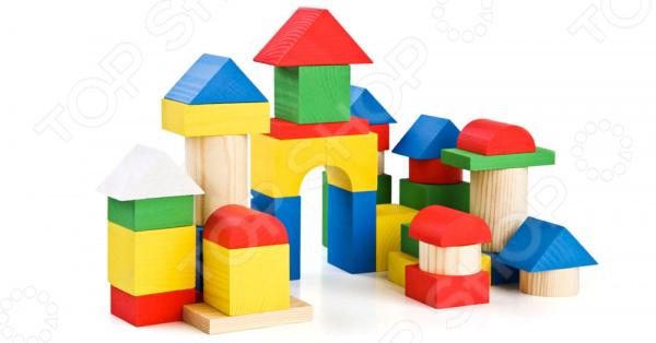Конструктор деревянный Томик 6678-43 томик деревянный конструктор цветной 26 деталей