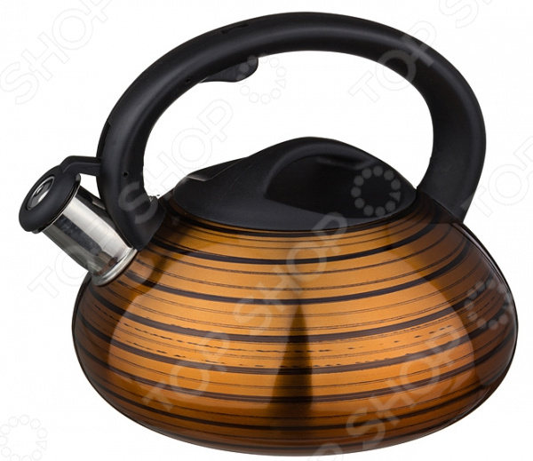 Чайник со свистком Agness 907-056