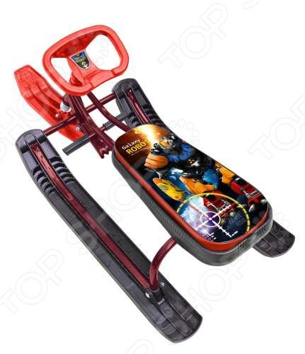 Снегокат детский ТИМКА «Спорт 2. Робот» снегокат nika тимка спорт 5 робот 1625813