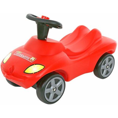 Купить Машина-каталка Wader со звуковым сигналом «Пожарная команда»