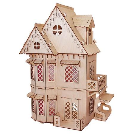 Купить Домик сборный для куклы PAREMO «Дом принцессы»