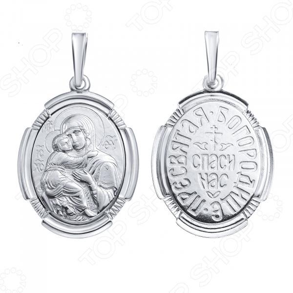Образок «Пресвятая Богородица Владимирская» 10834 икона остробрамская пресвятая богородица