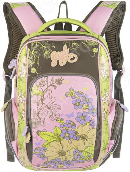 Рюкзак школьный Grizzly RG-660-2/2 рюкзак grizzly rg 867 2 2 fuchsia