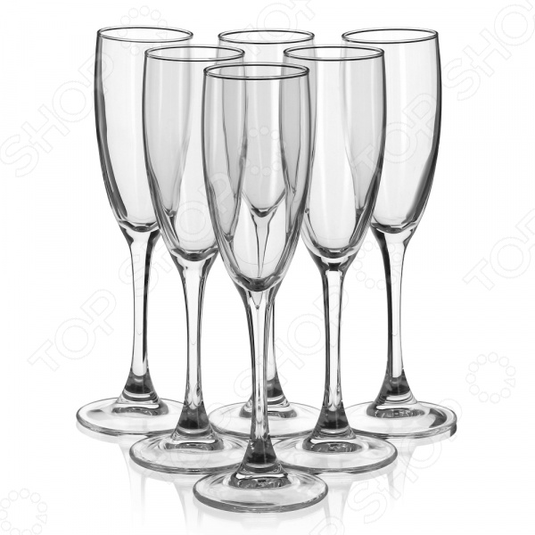 Набор фужеров Luminarc Signature. Количество предметов: 6 шт набор фужеров для шампанского luminarc signature 170 мл 6 шт