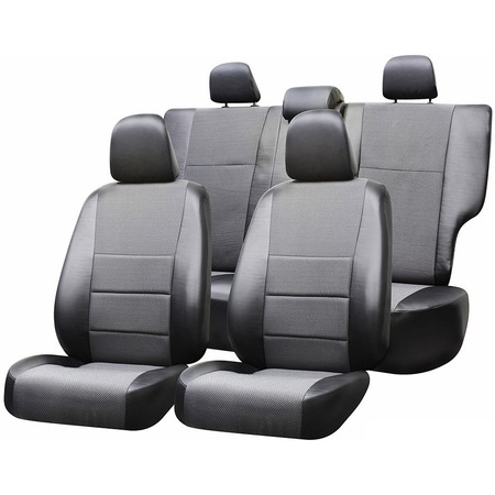 Купить Набор чехлов для сидений Defly Renault Duster, 2010-2015 / Sandero, 2009 - 2014, экокожа