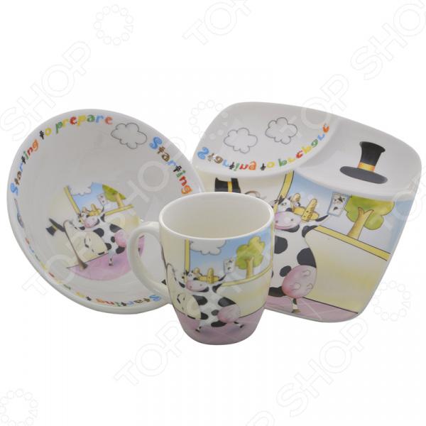 Набор посуды для детей Rosenberg 8775