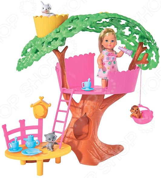 Набор игровой с куклой Simba «Еви. Домик на дереве» simba игровой набор домик маши