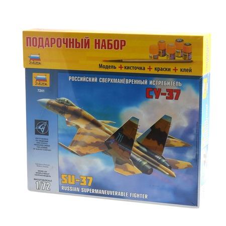 """Купить Подарочный набор Звезда самолет """"Су-37"""""""