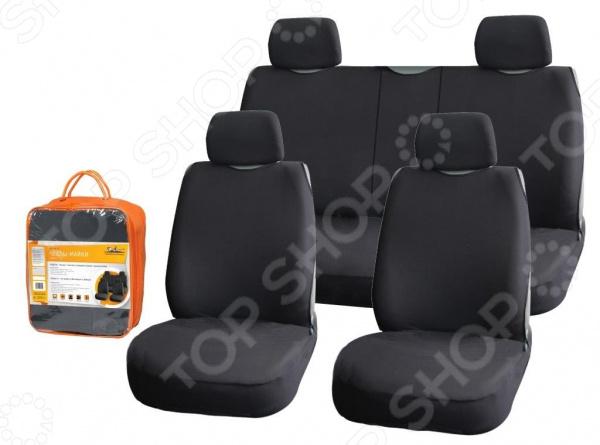 Набор чехлов-маек для передних и задних сидений Airline «Блааст» ASC-KB-04