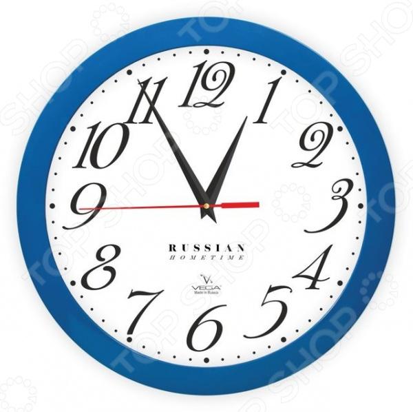 Часы настенные Вега П 1-10/7-272 «Классика» часы настенные вега п 4 14 7 86 новогодние подарки