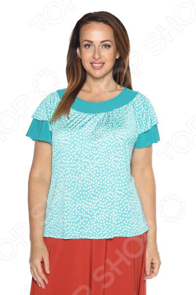Блуза Лауме-Лайн «Феникс». Цвет: бирюзовый