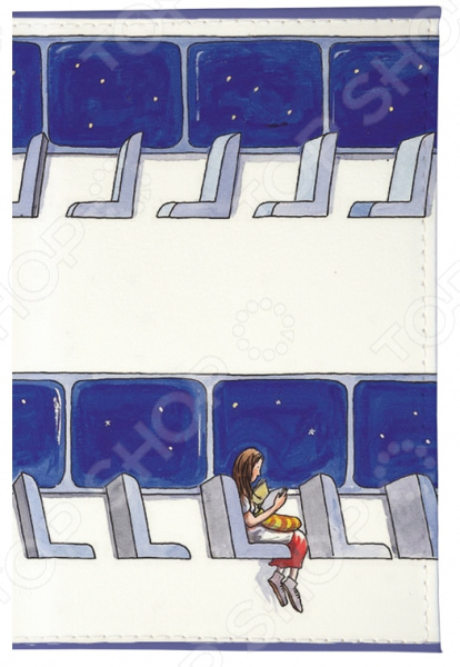 Обложка для автодокументов Mitya Veselkov «В пустом вагоне»