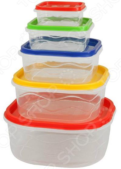 Набор контейнеров для продуктов Rosenberg RPL-575005-5