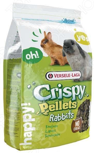 Корм для кроликов Versele-Laga Crispy Muesli Rabbits гранулированный корм для птиц versele laga budgies для волнистых попугаев 1кг