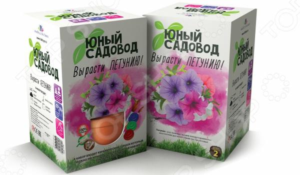 Набор для выращивания Юный Садовод «Вырасти петунью»