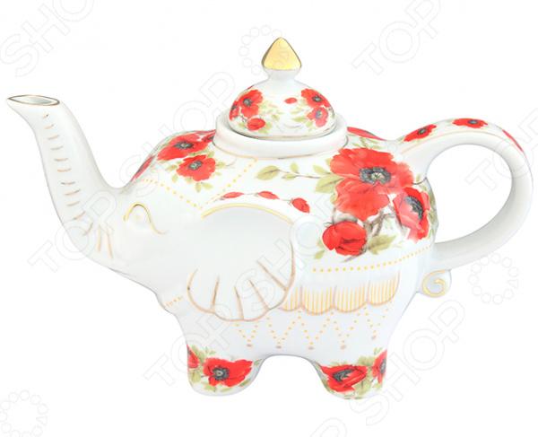 Чайник заварочный Elan Gallery «Маки»