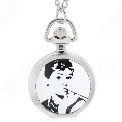 Кулон-часы Mitya Veselkov «Одри курит» часы наручные mitya veselkov часы mitya veselkov одри на белом курит арт mv 38