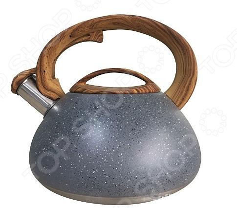 Чайник со свистком Mallony Foresta
