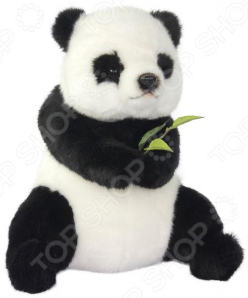 Мягкая игрушка Hansa «Панда сидящая»
