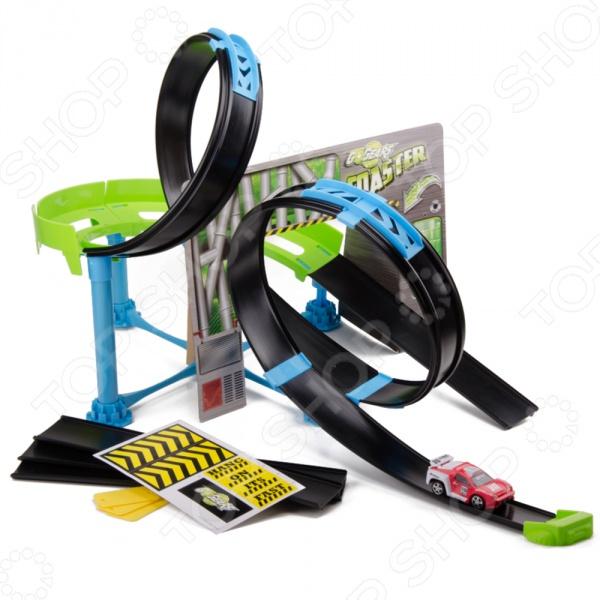 Набор игровой для гонок Bburago GO GEAR «Скоростная трасса с 2-мя петлями и машиной»