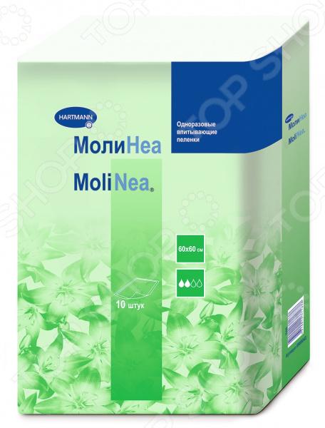 Пеленки впитывающие Hartman MoliNea Plus. Размер: 60х60 см