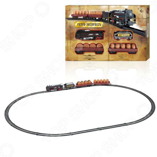 Набор железнодорожный 1 Toy «Ретро Экспресс» Т10145