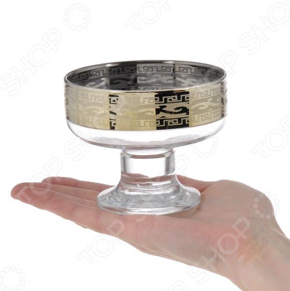 Набор креманок Гусь Хрустальный «Версаче» набор бокалов для шампанского гусь хрустальный версаче