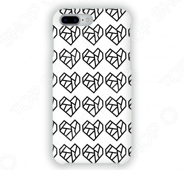 Чехол для iPhone 7 Plus Mitya Veselkov «Разбитые сердца» стоимость