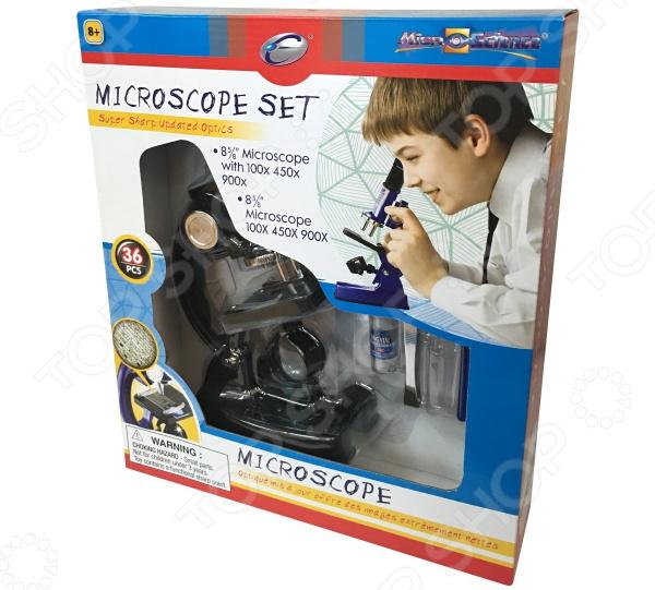 Микроскоп Eastcolight 21362 набор обучающий eastcolight микроскоп 10х 20х