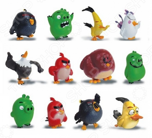 Фигурка коллекционная Angry Birds «Сердитая птичка». В ассортименте angry birds фигурка chuck