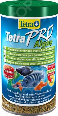 Корм для всех видов тропических рыб Tetra Pro Algae Crisps tetra minpro crisps
