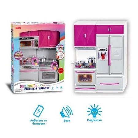 Купить Мебель для куклы Zhorya «Кухонный гарнитур» 95892. В ассортименте