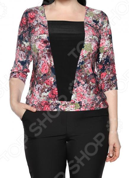 Туника Jenks «Добрый взгляд». Цвет: мультиколор блуза jenks счастливое настроение цвет фиолетовый