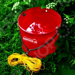 Ведро складное походное Adrenalin Waterbag Ведро складное походное Adrenalin Waterbag R /Красный
