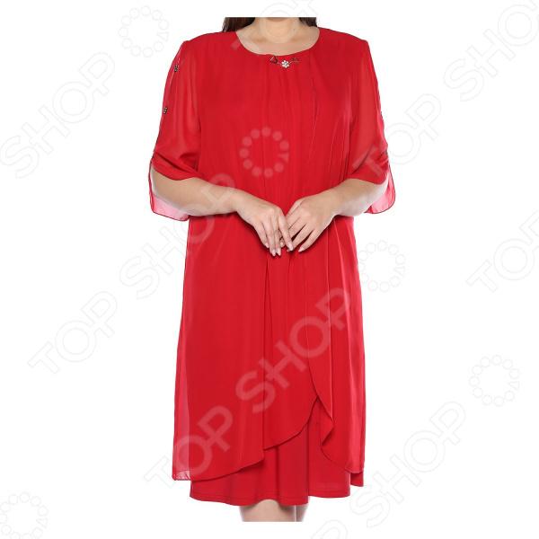 Платье Pretty Woman «Неповторимый образ». Цвет: красный