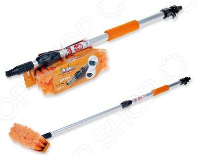 Швабра для мытья автомобиля Airline с насадкой для шланга и телескопической ручкой
