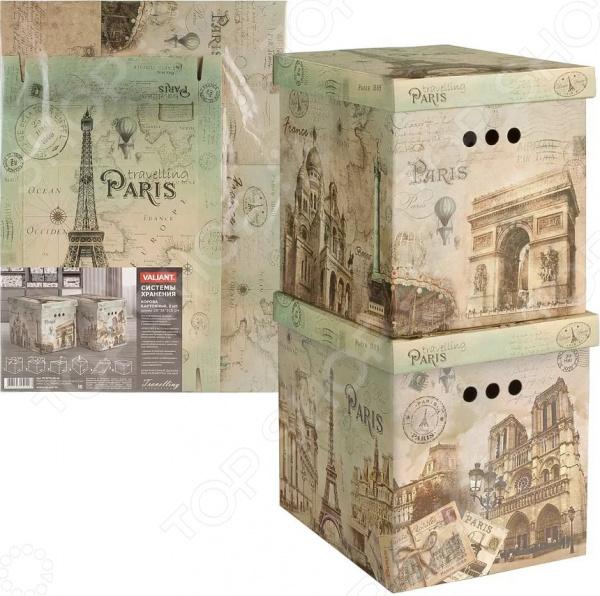 Набор коробок для хранения Valiant Travelling Paris на каких сайтах можно или продать старинные вещи
