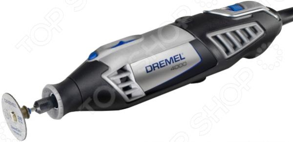 Гравер электрический Dremel 4000-4/65 с патроном и набором сверл гравер dremel 4000 4 65 ez f0134000jt