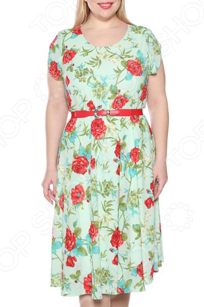 Платье LORICCI «Легкий день». Цвет: мятный платье loricci белые ночи цвет серый